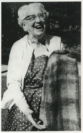 Photograph of Jean Milligan in New Zealand