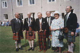 Group photograph of past Chairmen of the RSCDS