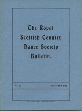 Bulletin No. 40 October 1962