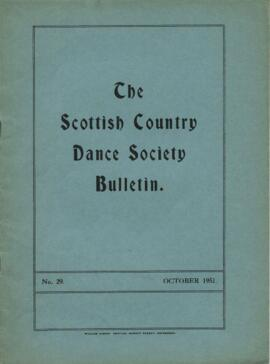 Bulletin No. 29 October 1951