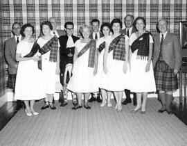 A group of unknown dancers at an event in Bedford NH