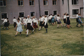 Photograph of a group dancing 'A Pitlochry Practice'