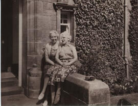 Photograph of Miss Ramsbottom & Miss Jarvis