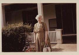 Photograph of Jean Milligan at Crawford House