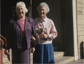 Photograph of Jean Sim and May Yarker