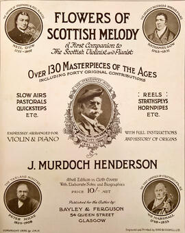 Flowers of Scottish Melody. A First Companion to The Scottish Violinist and Pianist