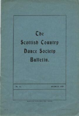 Bulletin No. 15, March 1939