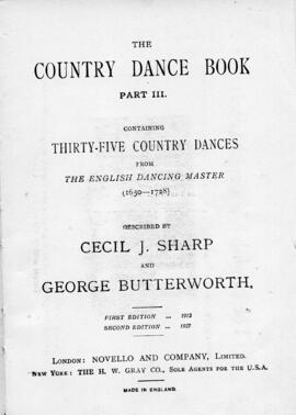 The Country Dance Book - Part III