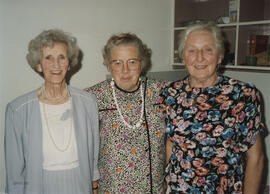 Photograph of Norah Dunn, Margaret Prentice and Jean Sim