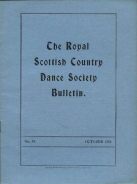 Bulletin No. 34, October 1956