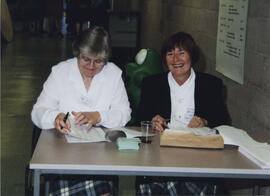 Photograph of Eileen Watt  and June Dix