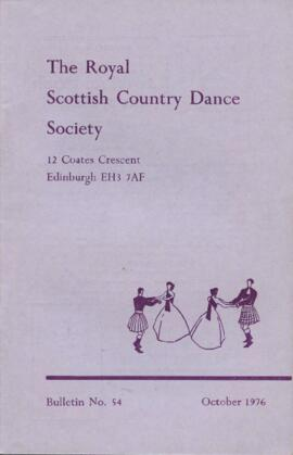 Bulletin No. 54, October 1976