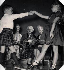 Toronto - photograph of children dancing for Jean Milligan