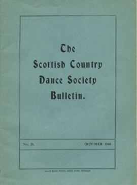 Bulletin No. 26, October 1948