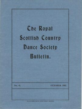 Bulletin No. 41 October 1963