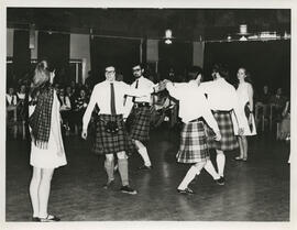 Photograph of Aberdeen University Scottish Country Dance team