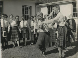 Photograph of Margaret MacLaren & Kevin Connolly dancing