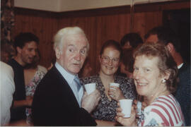 Photograph of Bill Little taken in the party room