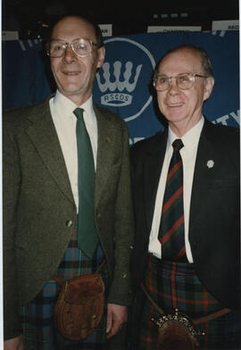 Photograph of George Lawson & Bill Clement