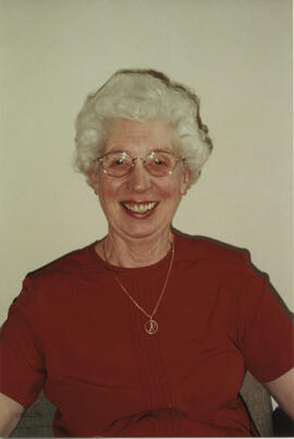 Photograph of Margaret Ross