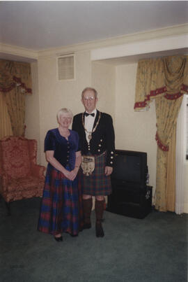 Photograph of Alan & Christine Mair