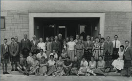 Photograph of a group at Summer School