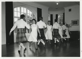 Photographs of a class or demonstration at Summer School