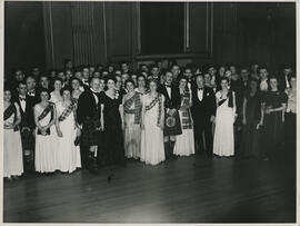 Photograph taken at the Edinburgh Branch Ball, 1950s